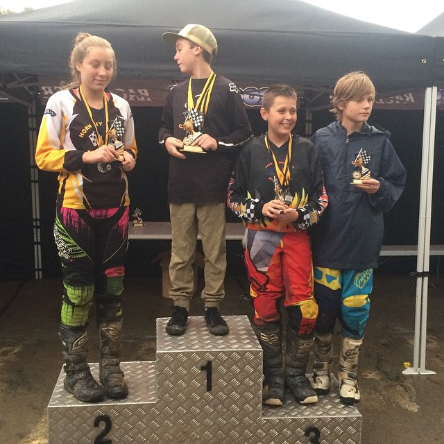 Congratulations Jack Sloan 120 for coming Third in 85cc Chellip